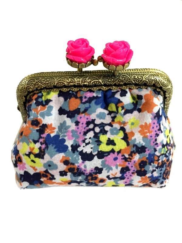 Multicolor purse