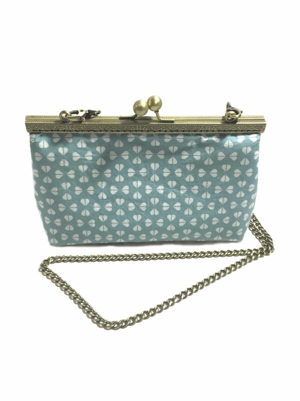 Clutchbag pale green