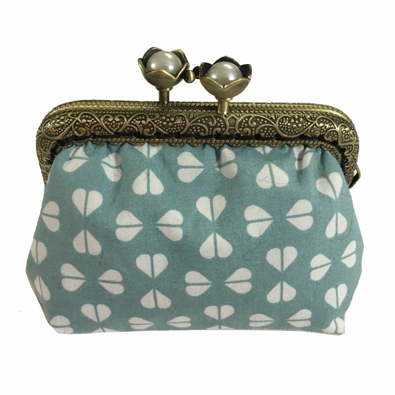 Purse pale-green